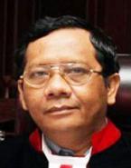 Mahfud MD Ketua MK Periode Kedua