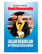 Peluncuran Buku Biografi Hukum Romli Atmasasmita